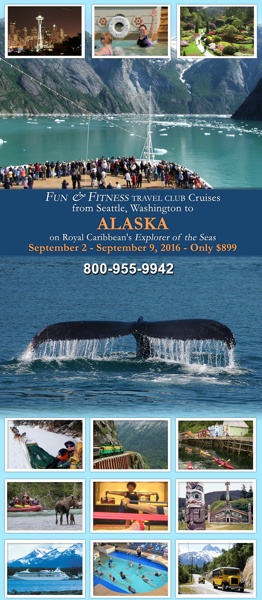 alaska cruise september 2 9 2016 explorer of the seas fun