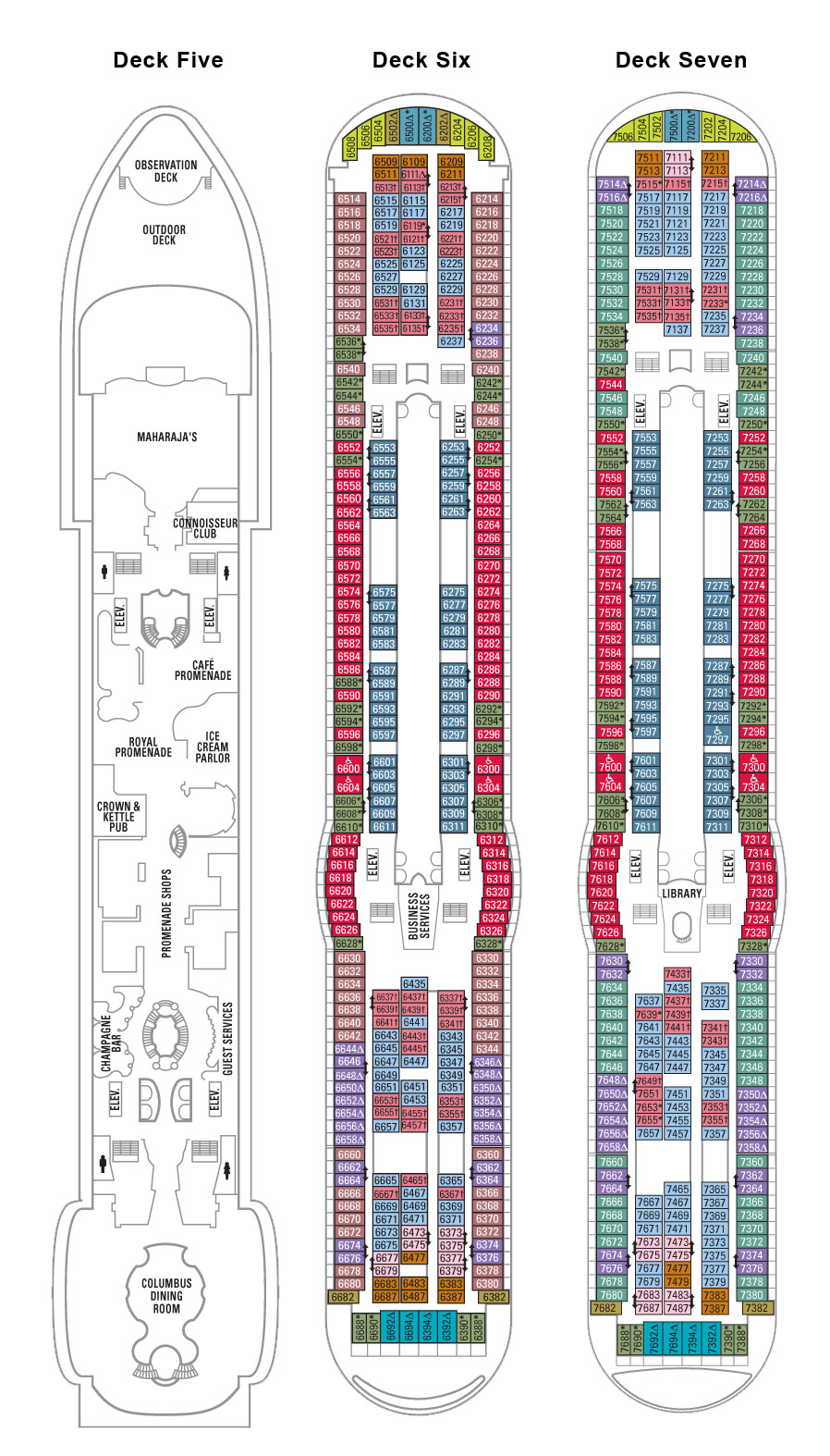 Explorer of the seas deck plan fun fitness travel club this page last updated august 8 baanklon Gallery