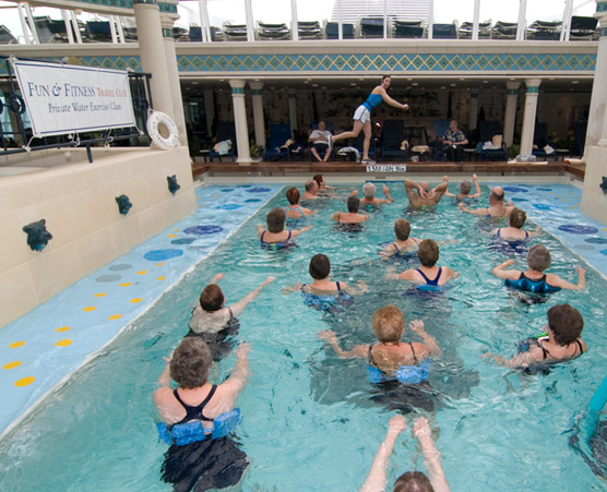 Celebrity cruises reflection fitness classes